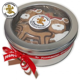 Assorted Gingerbread Christmas tin