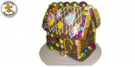 Easter Gingerbread House (small) - Complete