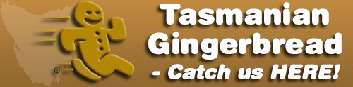 Gingerbread Man - Single Two Headed - Tasmanian Gingerbread Online Store